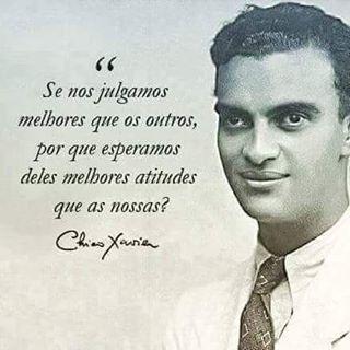 Espiritismo Brasil Chico Xavier Com Imagens Frases Espiritas