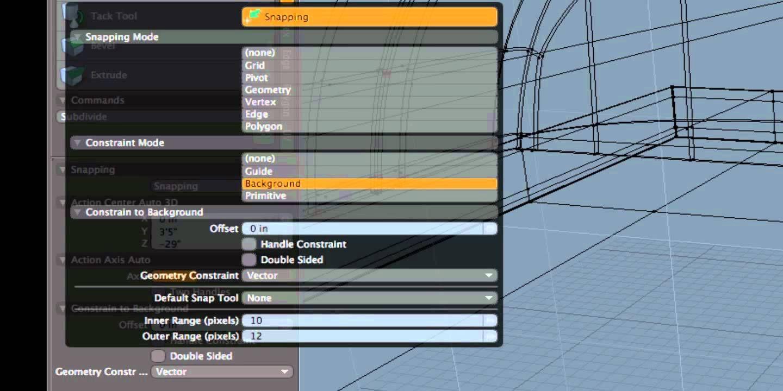 Background Constraint Modo Background Marvelous Designer 3d Model