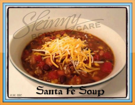 Santa Fe Soup  ღ For more great recipes please connect with me here at http://www.facebook.com/nanswope  (Crockpot) Ingredients: 2 lbs of lean ground beef or chuck  1 medium onion, diced (optional) 1 can pinto beans 1 can black beans 1 can chili hot beans 1 can whole kernel corn 1 14-oz can diced tomatoes 2 cans of rotel tomatoes w/chilis 2 packages of ranch dressing mix 2 packages of taco seasoning 2 cups water  Add 2 cups of water to crockpot. Add in all cans of veggies - Don't drain! Add…