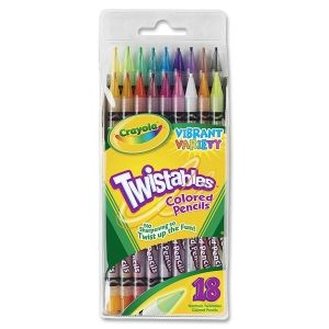 Crayola Self Sharpening Twistable Colored Pencils Twistable