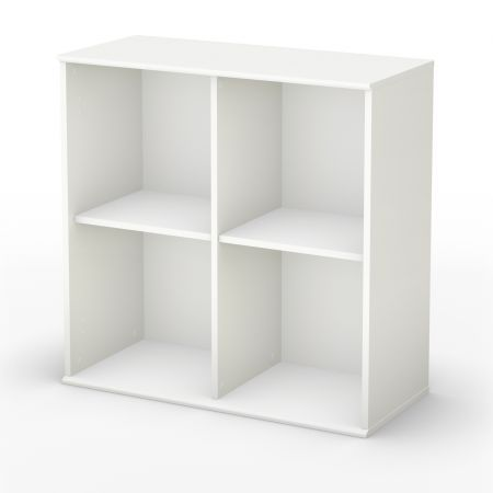 Stor It Collection 4 Cubby Storage Unit Closet Cubby Storage White Shelving Unit Storage Shelves