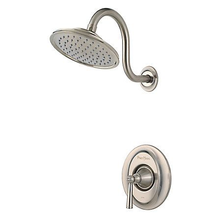 Brushed Nickel Saxton Shower Only R89 7glk Shower Faucet Tub