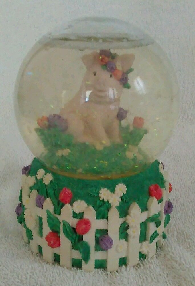 Vintage The San Francisco Music Box Company Snow Globe | eBay