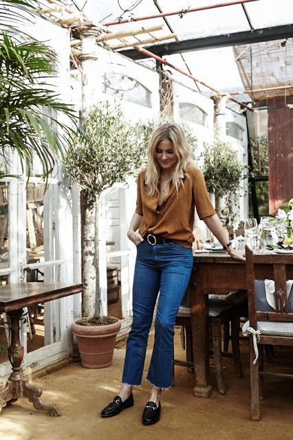 15f00a7ffb8 Parisienne: HOW TO WEAR KICK FLARE JEANS | donny | Fashion, Kick ...