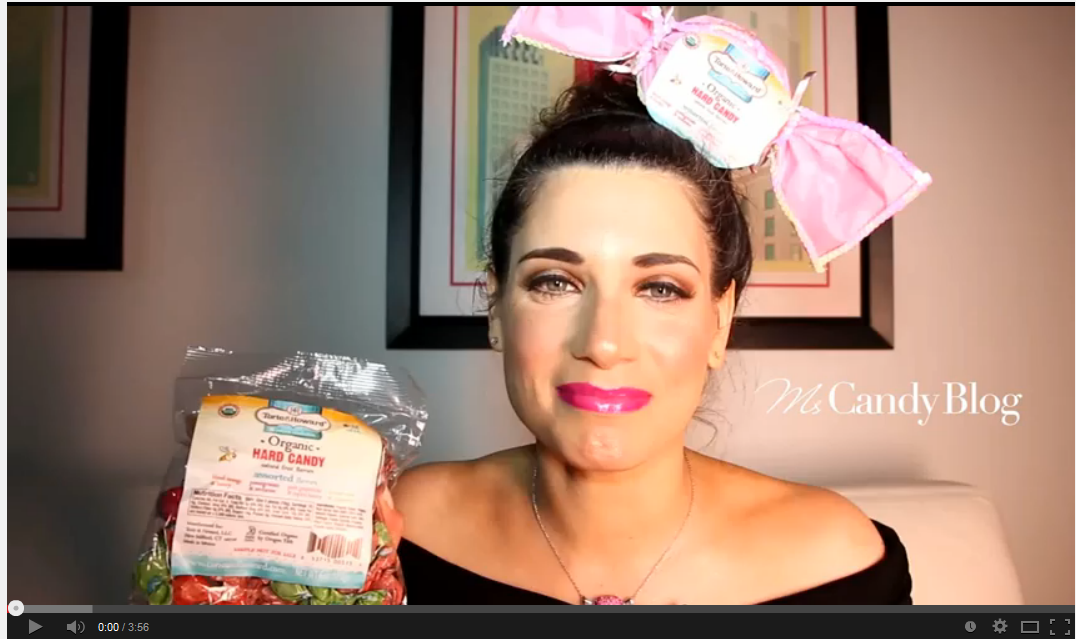 Ms Candy Blog gives Torie & Howard Organic Hard Candy a Fashionable Review
