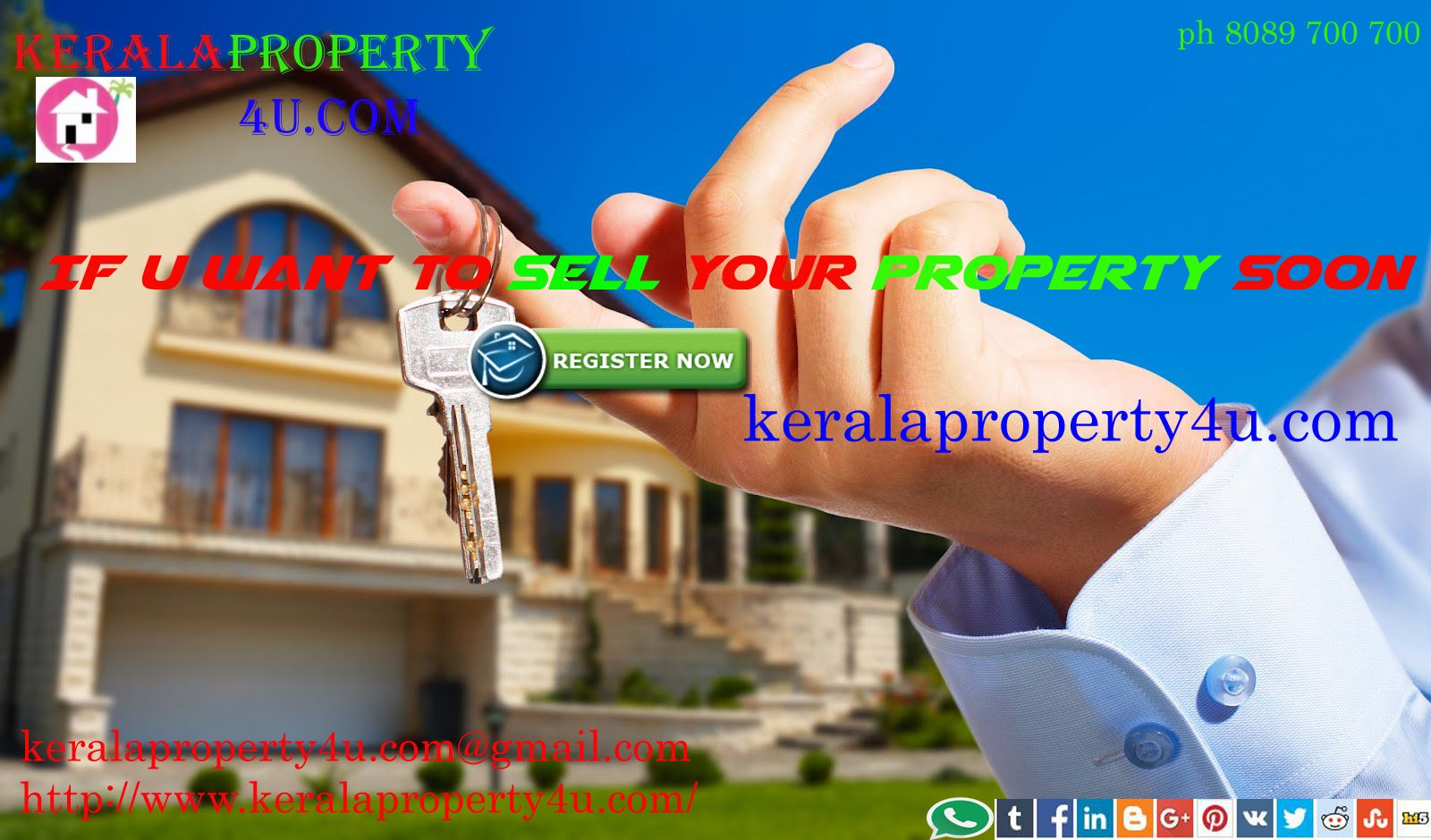 http://www.keralaproperty4u.com/index.php ph 8089 700 700