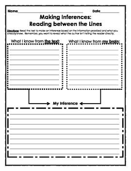 Strategies for Teaching Inference - Book Units Teacher