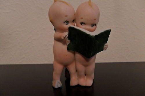 Kewpie Dolls Reading A Book | eBay