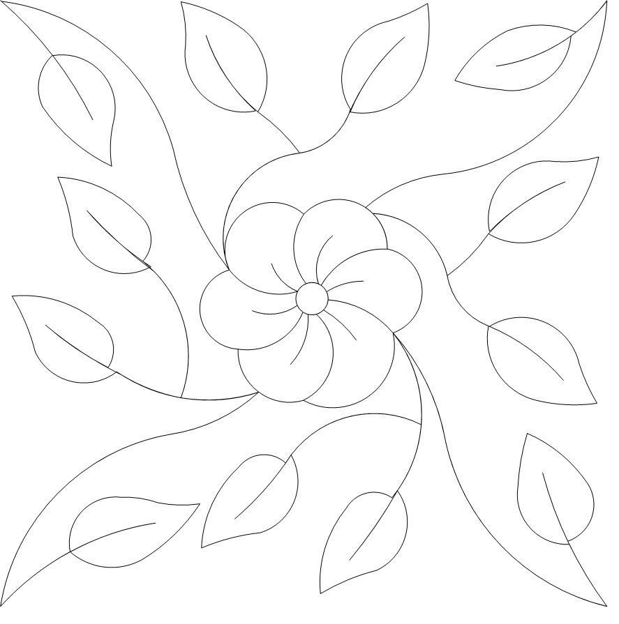 0526_-_Blooming_Vine_by_Dave_Dennis.jpg (887×895) | PATCHWORK ...