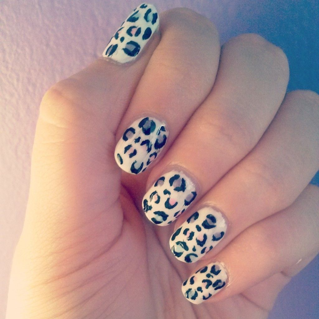 Cute leopard print nail design perfect for the summer d nail cute leopard print nail design perfect for the summer d prinsesfo Images