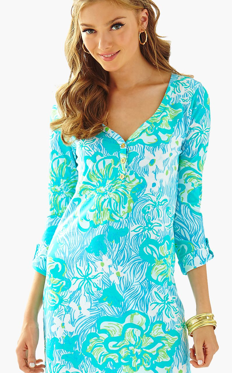 d85362396b Palmetto V Neck T Shirt Dress