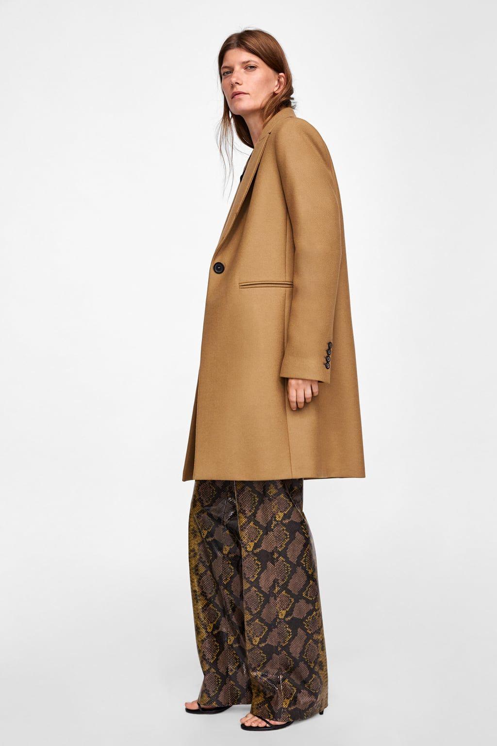chaussures de séparation 02a57 00292 Image 6 de MANTEAU MASCULIN de Zara | Something à la mode ...
