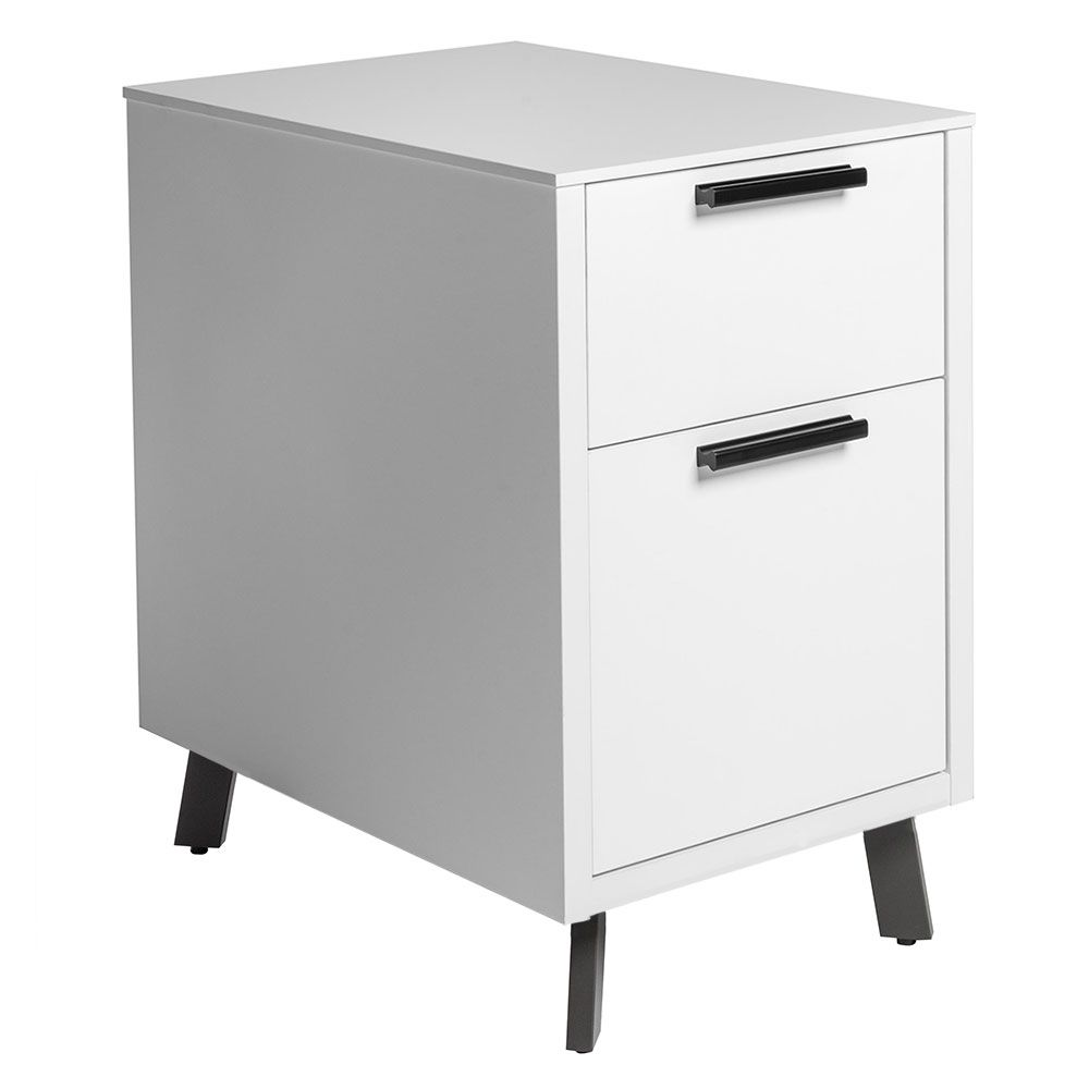 The Hart 2 Drawer File Cabinet Simplifies Your Workspace Two