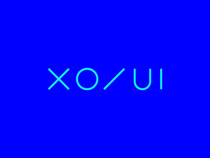 XO / UI by R. Angermuller