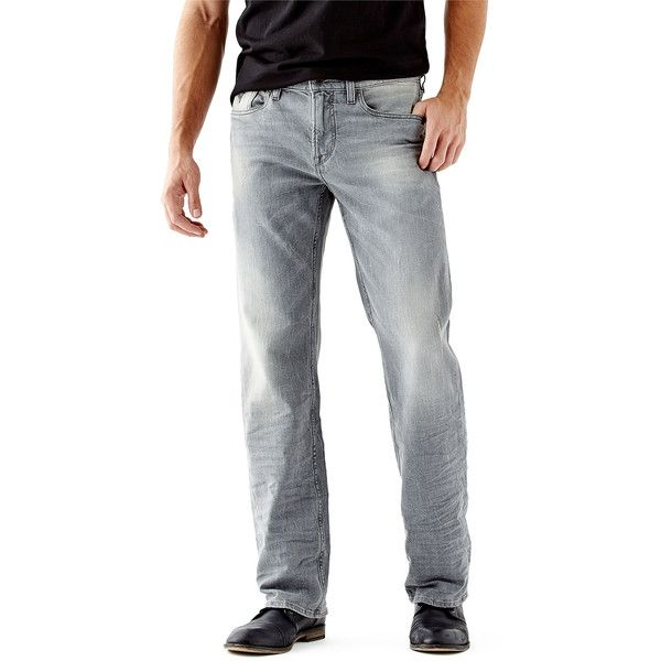 Guess relaxed fit bootcut jeans