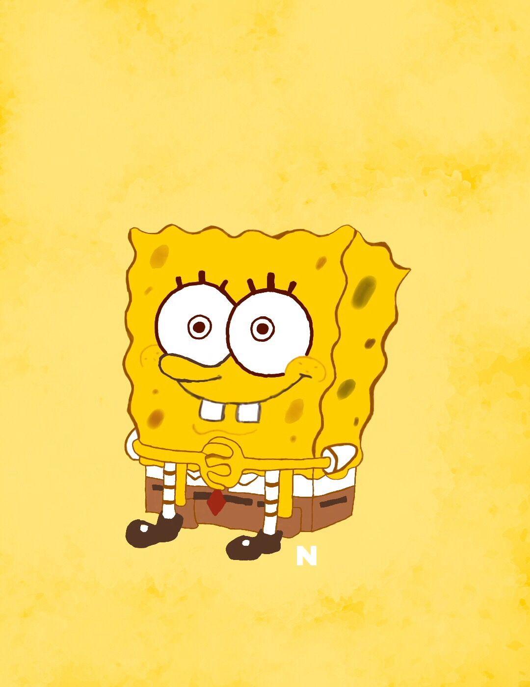 Wallpaper Spongebob And Yellow Image Spongebob Drawings Cartoon Wallpaper Spongebob Wallpaper