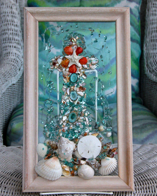 Pin Di House Plans Ideas Sea glass bathroom decor