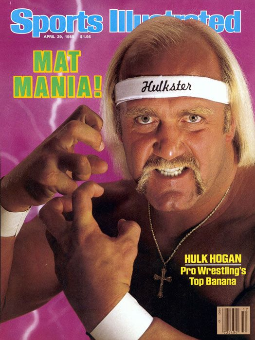 Hulk Hogan First and only wrestler to ever be on the cover – Hulk Hogan Birthday Card