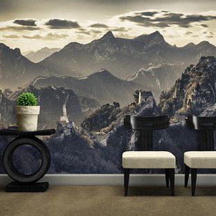 Great Wall Of China Wall Mural In All Products By Vinyl Impression