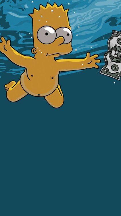 Simpsons Tumblr Iphone Wallpaper