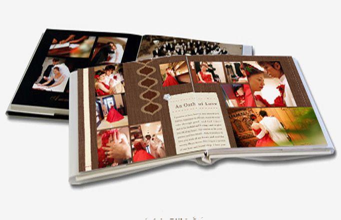 magazine style photo album