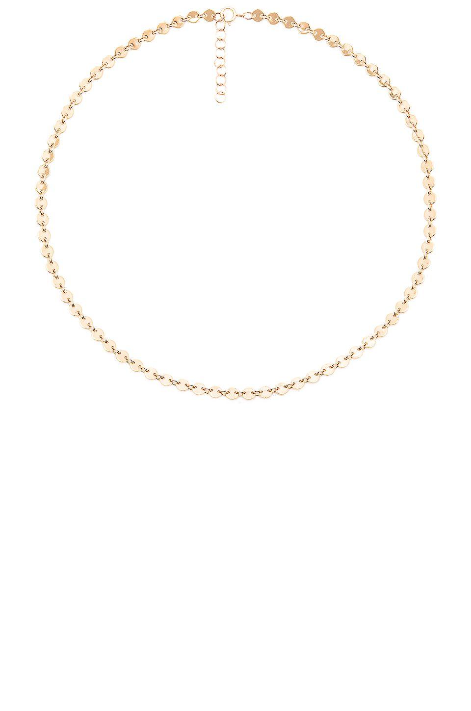 Gjenmi Jewelry Disc Choker in Metallic Gold 4sxIDd