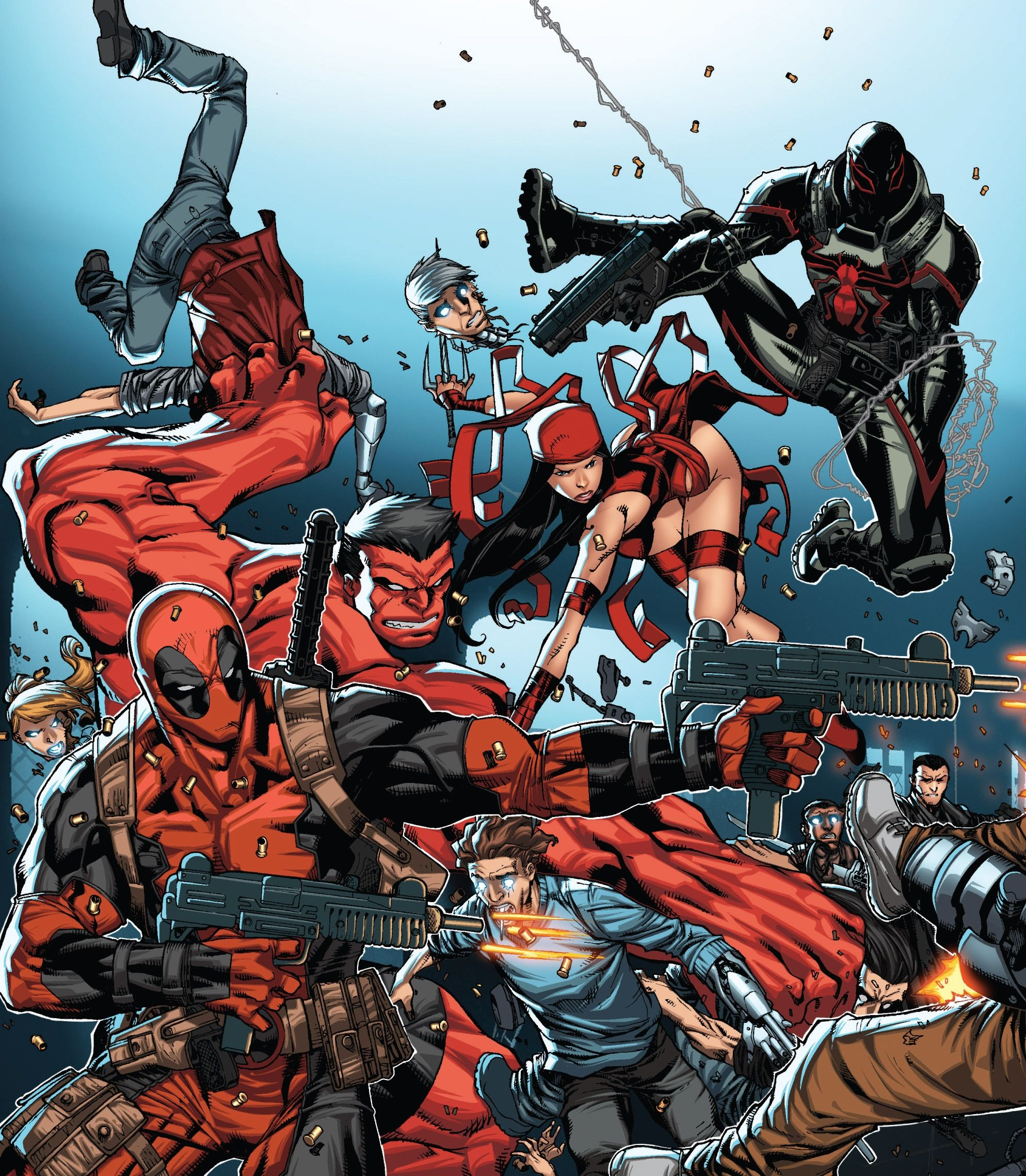 Marvel Civil War's Winter Soldier Leads A New Thunderbolts Team ...
