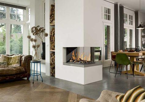 Kamin Wohnzimmer ~ Wohnzimmer mit kamin modern erstaunliche hause design ideen