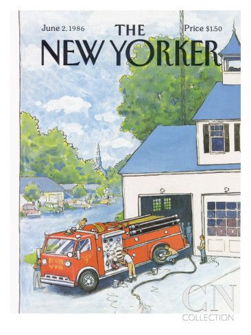 The New Yorker Cover - June 2, 1986 Premium Giclee Print