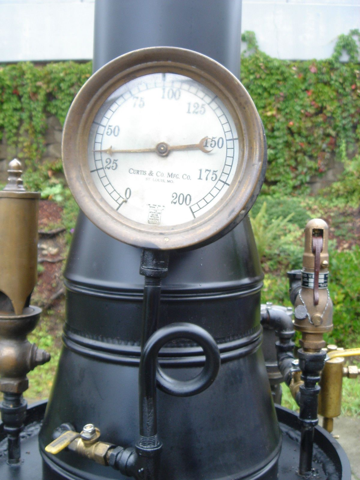 Live Steam Boiler With Engine Flyball Governor Whistle Pump Coal Off Grid Ebay Steam Boiler Boiler Antique Wall Clock
