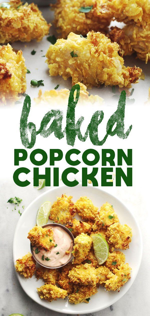 Baked Popcorn Chicken images