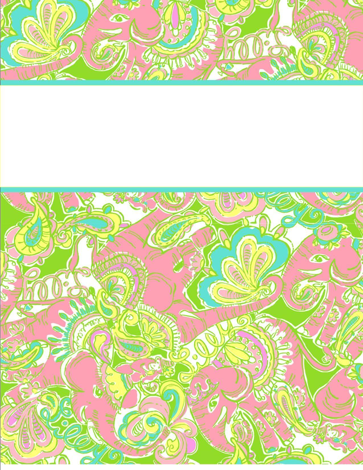 Book Cover Portadas Kawaii ~ My cute binder covers printable