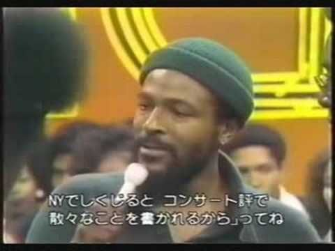Marvin Gaye Interview - YouTube | Soul Train in 2019