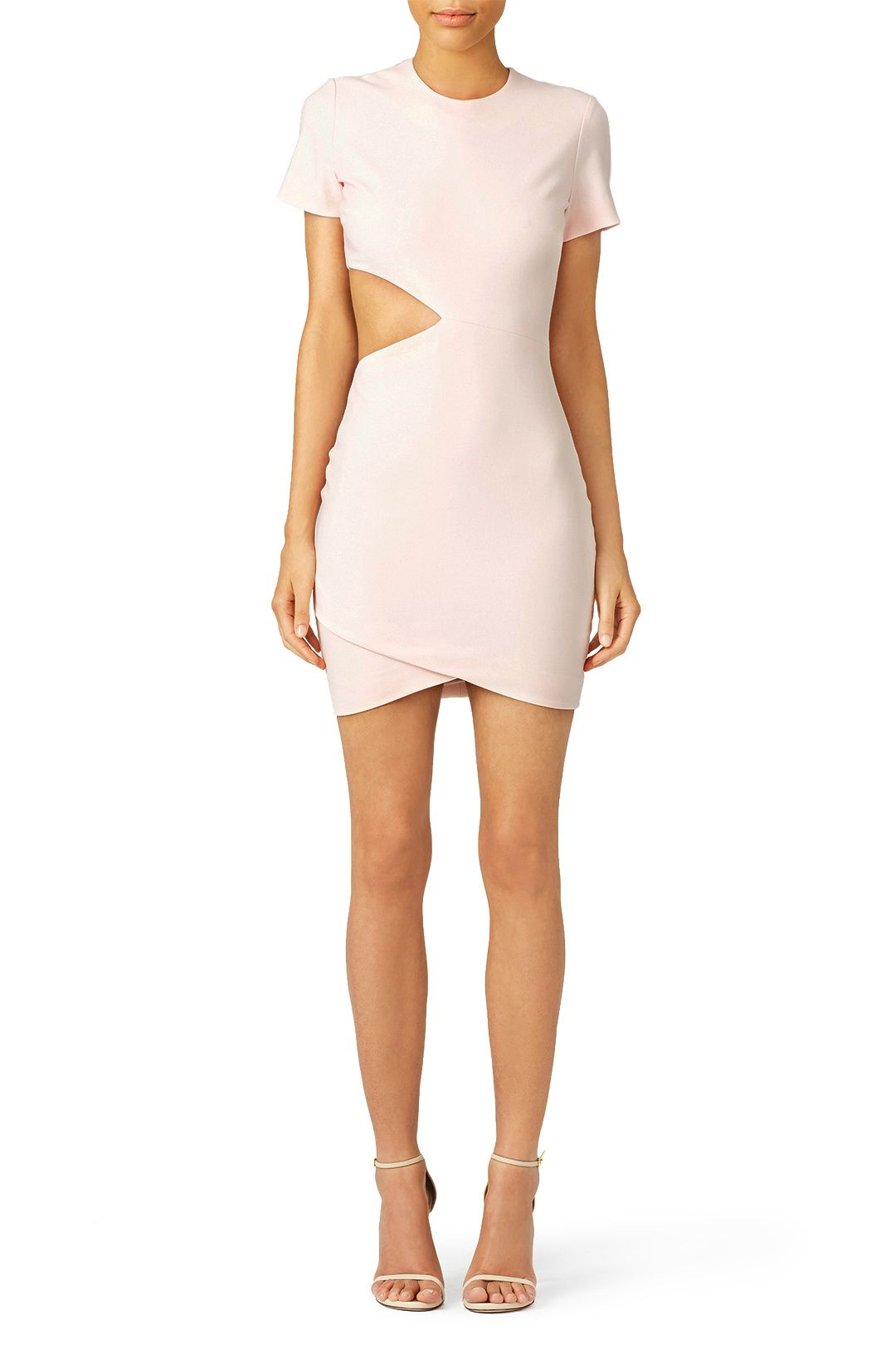 Pink dress hoco  Blush Aiala Dress  hoco  Pinterest  Metallic Sandals and Pink