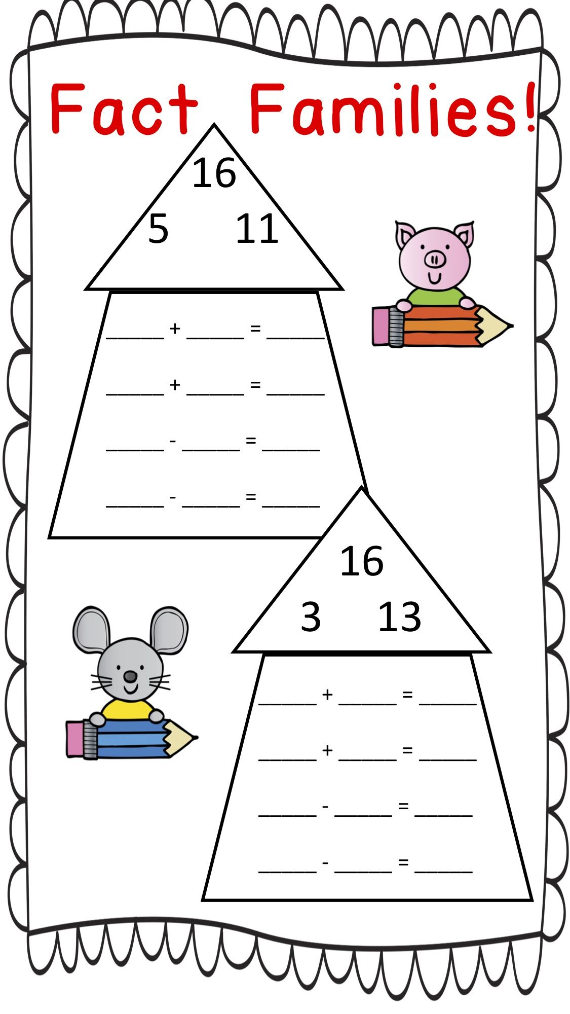 Students Will Love Practicing Their Facts 1 20 On These