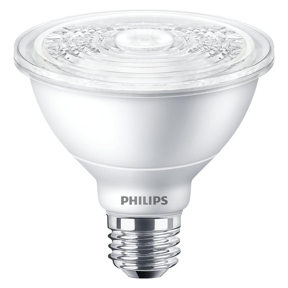 Philips 120 Watt Equivalent Par38 Dimmable Expert Color Led Light Bulb Warm White 2700k 470831 The Home Depot In 2020 Light Bulb Led Light Bulb Led Bulb