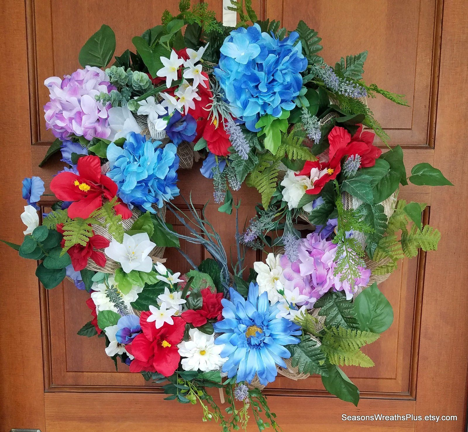 Home decor artificial flowers  Floral Arrangement Front Door Wreath Artificial Fall Arrangement