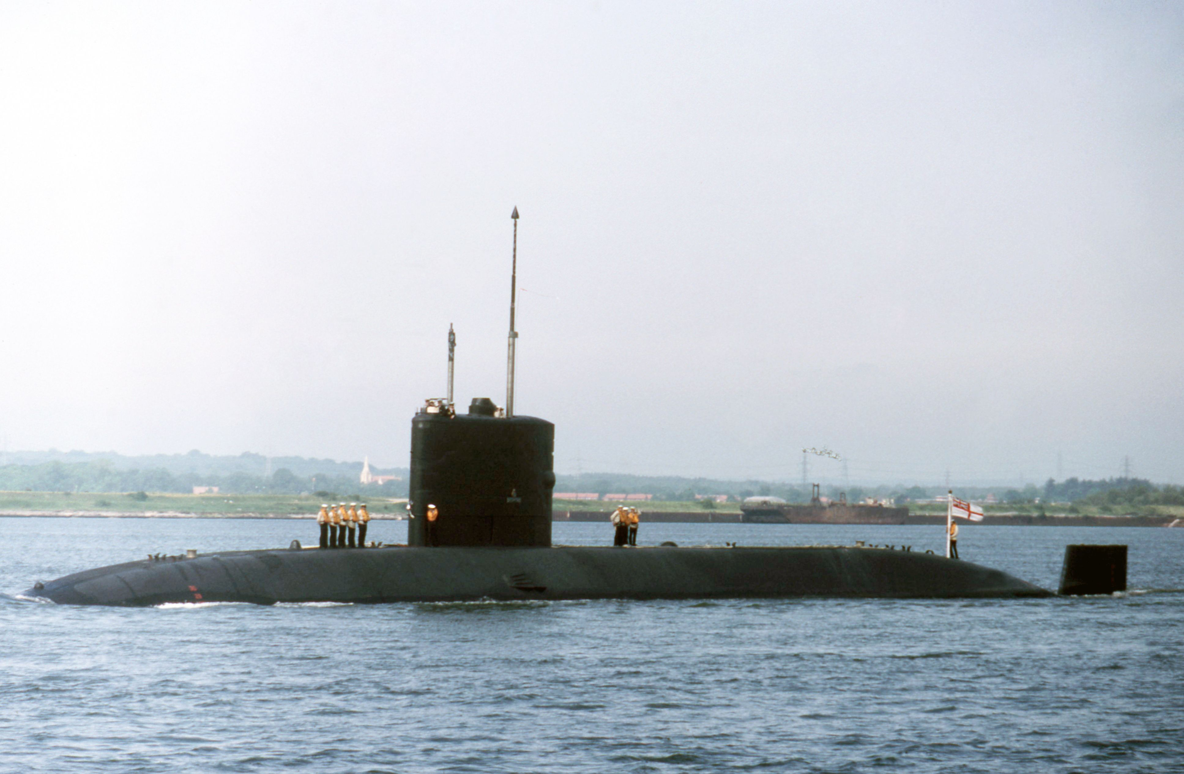 the fifth hms sceptre is a swiftsure-class submarine built