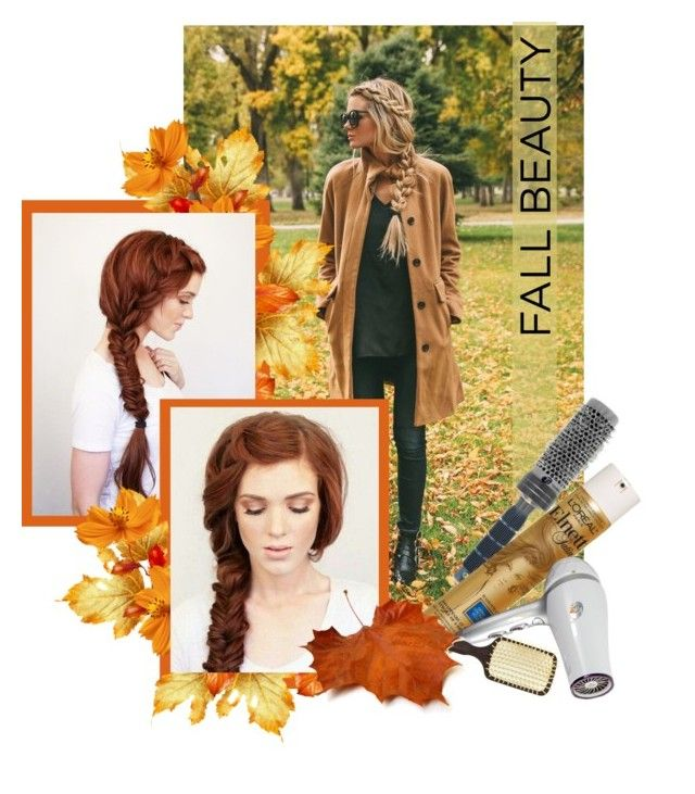 """Fall Hairstyle"" by lenochca ❤ liked on Polyvore"