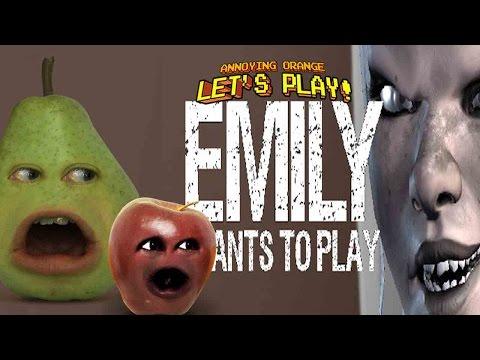 168 Annoying Orange Emily Wants To Play W Pear Midget Apple Youtube Annoying Orange Orange Annoyed