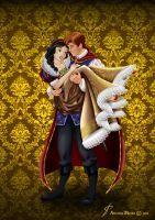 Designer Fairytale: SNOW WHITE + PRINCE FERDINAND by MissMikopete