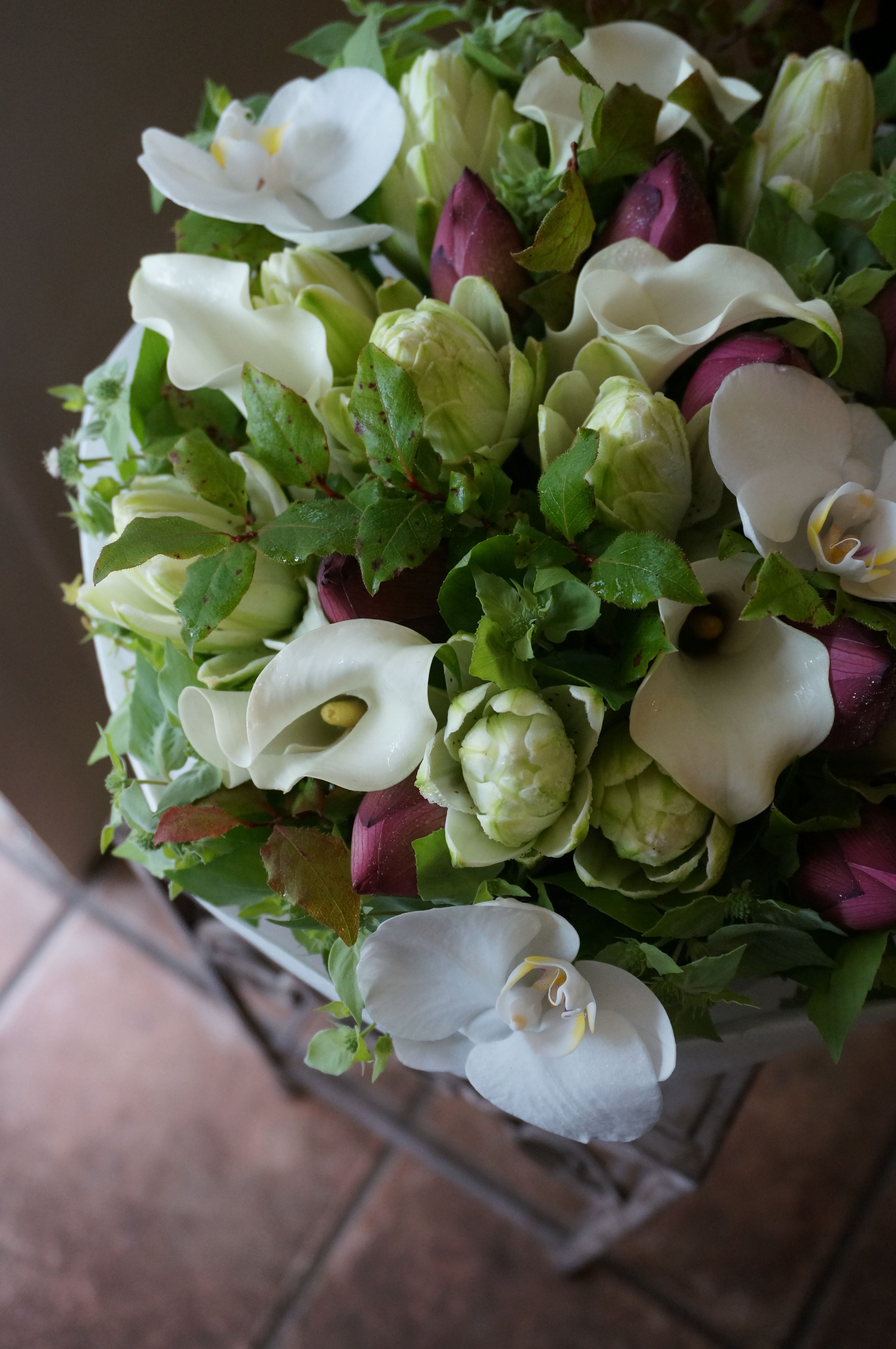 Callalily and orchid wedding pinterest calla lilies orchid callalily and orchid izmirmasajfo