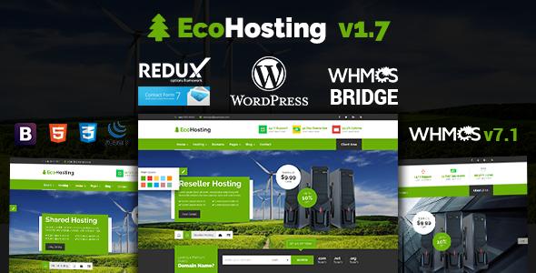 EcoHosting   Responsive Hosting and WHMCS WordPress Theme   Pinterest