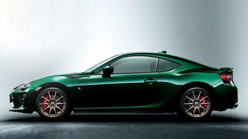I Am Extremely Here For This British Racing Green Toyota 86