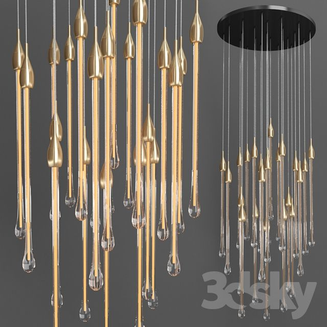 Allure Lighting Lightning Ceiling Lights
