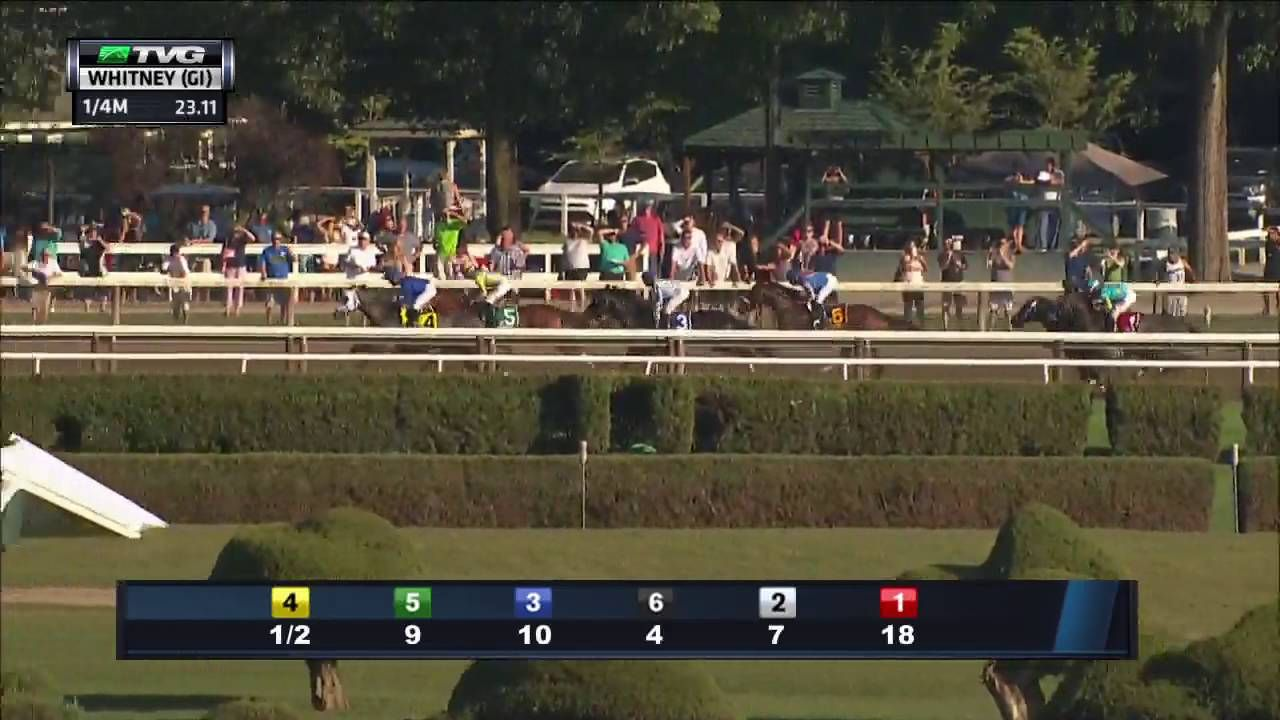 RACE REPLAY: 2016 Whitney Stakes Featuring Frosted