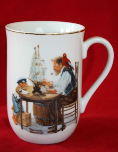 2185b70b868 Norman Rockwell Mug Cup For a Good Boy Normal Rockwell Museum ...