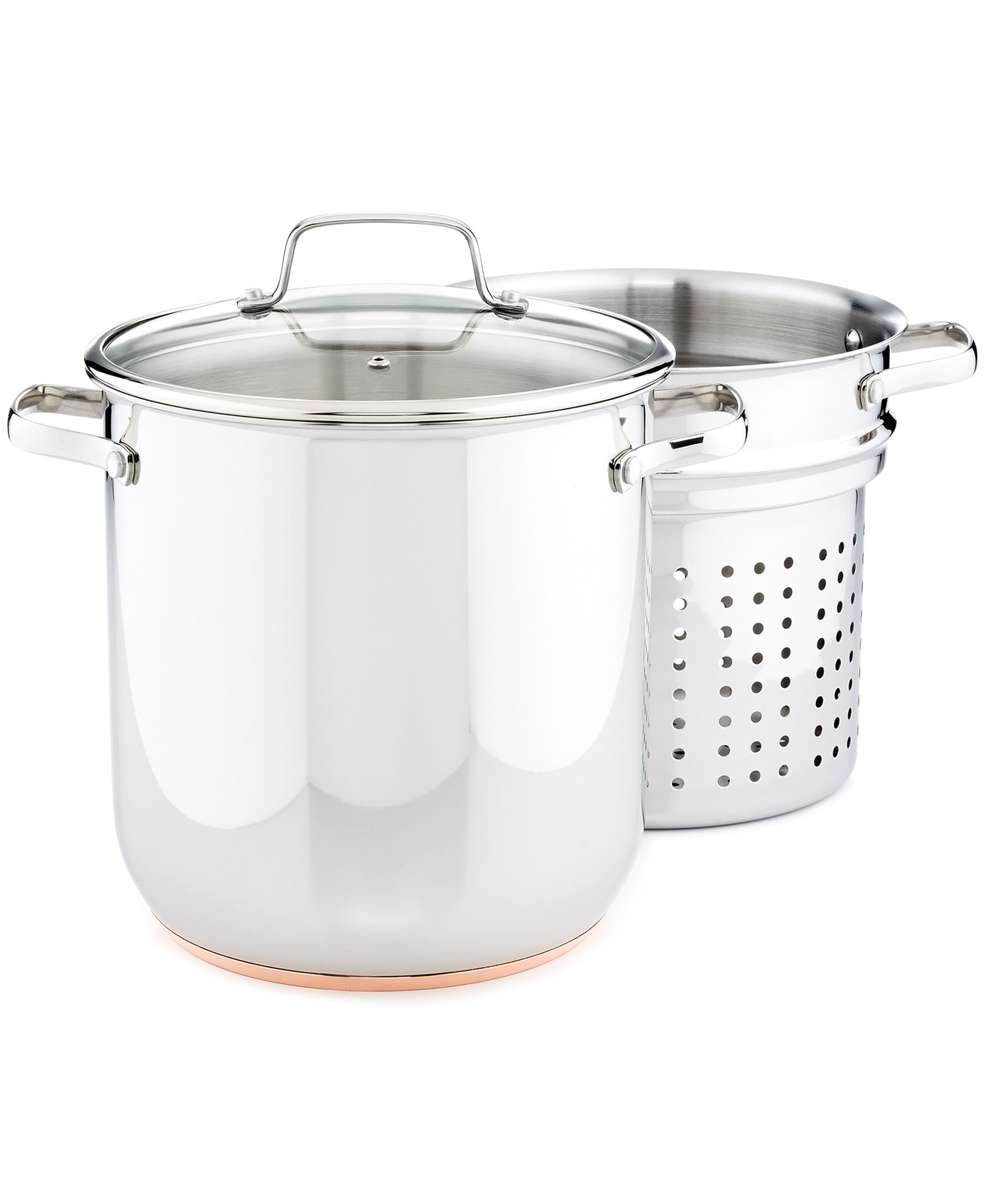 Streamline Your Pasta Night With A Stockpot With Built In