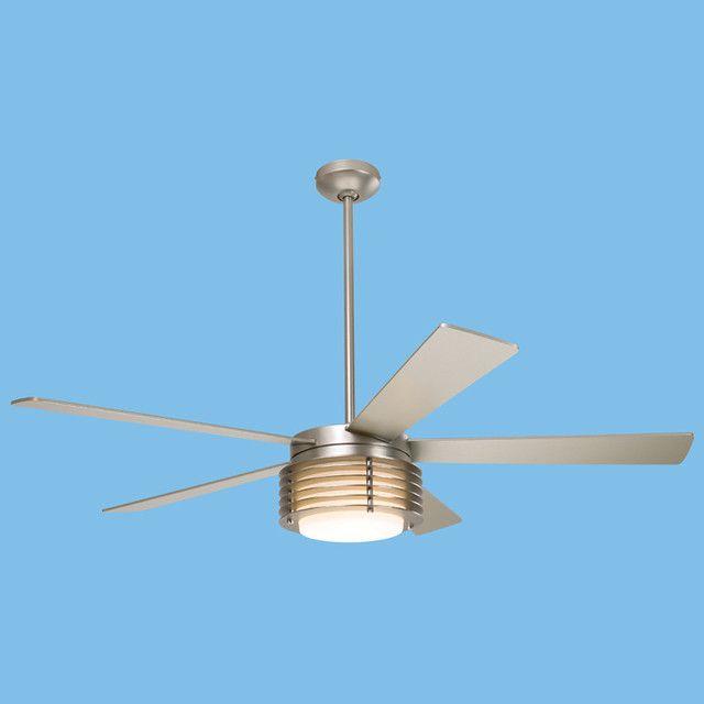 Modern Fan Pharos Nickel Fan Modern Ceiling Fans 2modern
