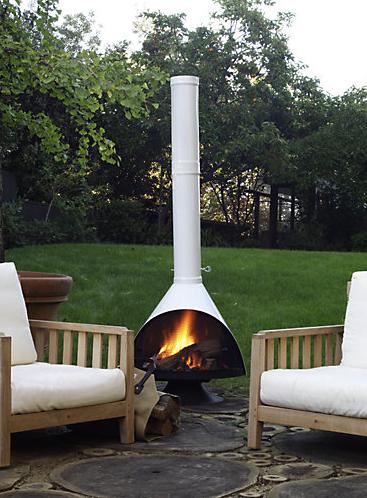 Backyard · Mcm Chimney. Fireplace ...